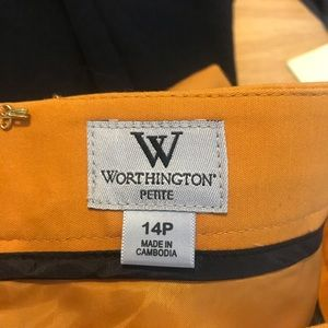 Worthington Skirts - Worthington mustard colored pencil skirt